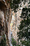 Morne v/d Mescht on 'The Pinnacle' Pinnacle Gorge, EC